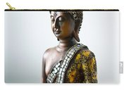 Buddha Statue With A Golden Robe Carry-all Pouch