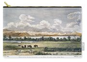 Buffalo, 19th Century Carry-all Pouch