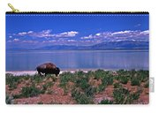 Buffalo And The Great Salt Lake Carry-all Pouch