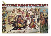 Buffalo Bill: Poster, 1899 Carry-all Pouch