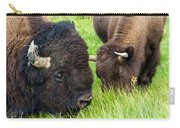 Buffalo Eyes Carry-all Pouch