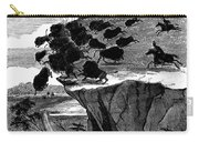 Buffalo Hunt, 1834 Carry-all Pouch