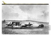 Buffalo Hunt, 1841 Carry-all Pouch