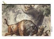 Buffalo & Lynx Carry-all Pouch