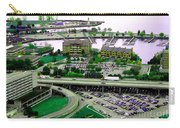 Buffalo New York Waterfront Aerial View Ultraviolet Effect Carry-all Pouch