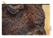 Buffalo Up Close Carry-all Pouch