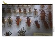 Bug Collector - So What's Bugging You Carry-all Pouch by Mike Savad
