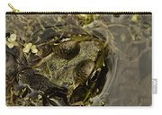 Bug Eyed Pond Frog Carry-all Pouch