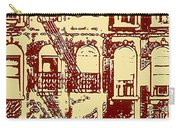 Building Facade Line Art Carry-all Pouch