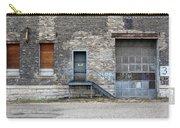 Building No.3 Garage Door Carry-all Pouch