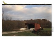 Built In 1883 Roseman Bridge Carry-all Pouch