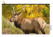Bull Elk Autum Portrait Carry-all Pouch