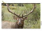 Bull Elk Eyes Carry-all Pouch