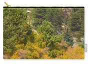 Bull Elk Lake Crusing With Autumn Colors Carry-all Pouch