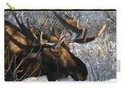 Bull In The Brush Carry-all Pouch