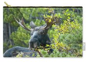 Bull Moose At Dusk Carry-all Pouch