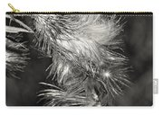 Bull Thistle Monochrome Carry-all Pouch