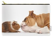 Bulldog & Guinea Pig Carry-all Pouch