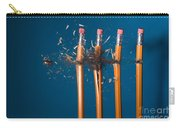 Bullet Hitting Pencils Carry-all Pouch