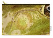 Bullfrog Ear Carry-all Pouch by Ted Kinsman
