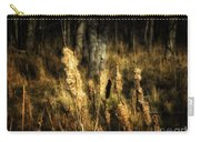 Bullrushes To Seed Carry-all Pouch