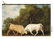 Bulls Fighting Carry-all Pouch
