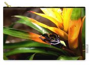 Bumble Bee Dart Frogs Carry-all Pouch