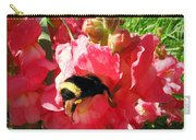 Bumblebee And Snapdragon Carry-all Pouch