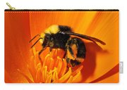 Bumblebee On Flower Carry-all Pouch