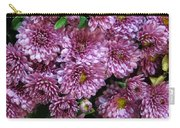 Bunch Of Chrysanths Carry-all Pouch