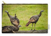 Bunch Of Turkeys Carry-all Pouch