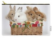 Bunnies In A Basket Carry-all Pouch