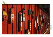 Rockport Buoy Wall - Greeting Card Carry-all Pouch