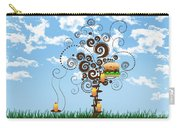 Burger Tree House And The Cupcake Kids  Carry-all Pouch