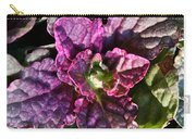 Burgundy Glow Bugleweed Carry-all Pouch