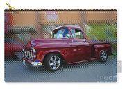 Burgundy Hot Rod Pick Up Abstract Carry-all Pouch