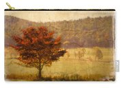 Burning Bush Carry-all Pouch by Debra and Dave Vanderlaan