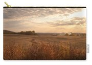 Burning Leaves On The Farm Carry-all Pouch