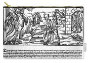 Burning Of Witches, 1555 Carry-all Pouch
