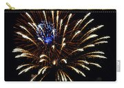 Bursting Out With Color Carry-all Pouch by Sandi OReilly