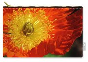 Bursting Peony Carry-all Pouch