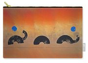 Bush Fire Three Carry-all Pouch