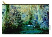 Bush Trail At Sunrise Carry-all Pouch