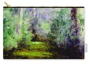 Bush Trail At The Afternoon Carry-all Pouch