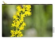 Busy Bee On Yellow Wildflower Carry-all Pouch