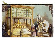 Butter Trade Card, C1880 Carry-all Pouch by Granger