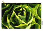 Buttercrunch Lettuce From Above Carry-all Pouch