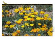 Buttercups In The Desert Carry-all Pouch