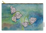 Butterflies Hanging Out Carry-all Pouch