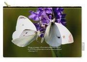 Butterfly - Dueteronomy 31 6 Carry-all Pouch